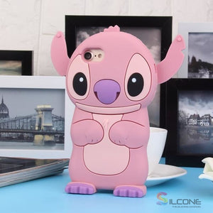 3D Cartoon Soft Silicone Phone Case For Iphone 16 / X