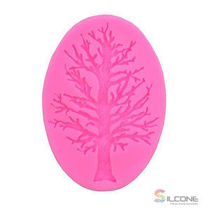 3D Tree Molds Sugarcraft Silicone Mold