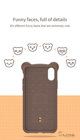 Image of Cute Little Bear Case For Iphone Xs Max Xr 2018