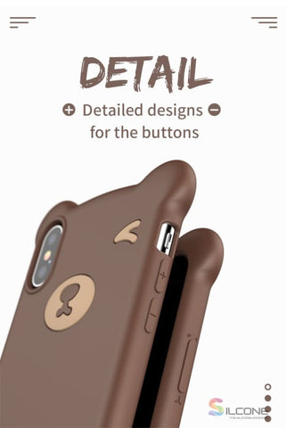 Cute Little Bear Case For Iphone Xs Max Xr 2018