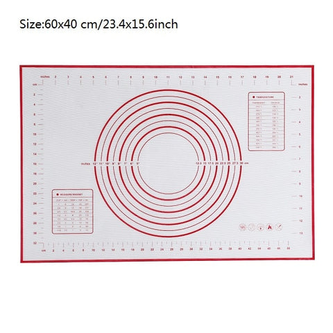 Ex-large Silicone Baking Mat for Oven Scale Rolling Dough