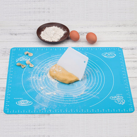 Image of Ex-large Silicone Baking Mat for Oven Scale Rolling Dough