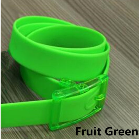 Silicone Adjustable Belt For Women & Men