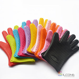 Silicone Gloves Waterproof Heat Resistant