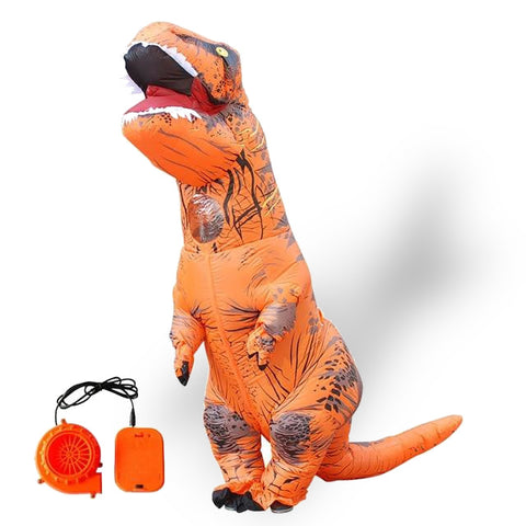 Déguisement orange dinosaure | Dinosaure Factory