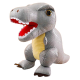 Peluche Tyrannosaure gris | Dinosaure Factory