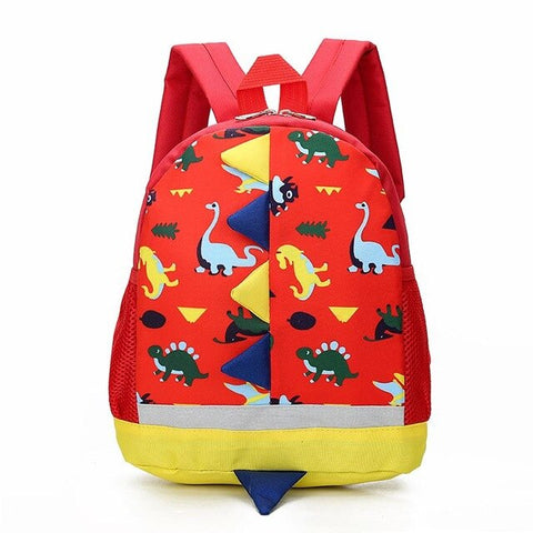 Cartable Rouge | Dinosaure Factory