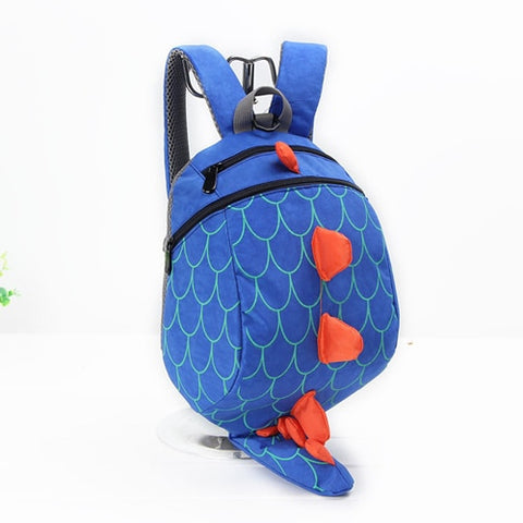Cartable Dinosaure<br> Enfant queue 23 cm