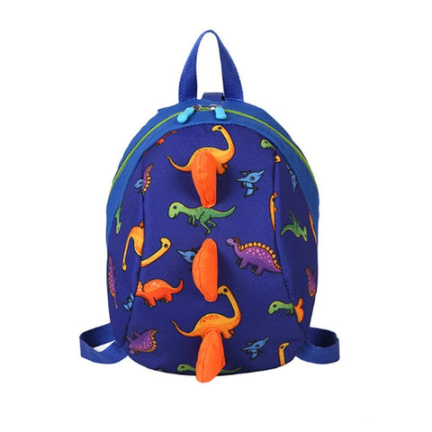 Cartable Bleu Marine | Dinosaure Factory