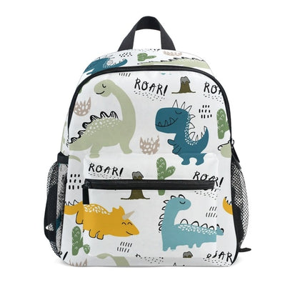 Cartable Blanc | Dinosaure Factory