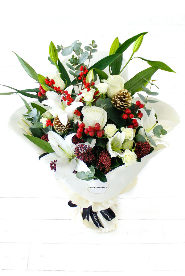 White Carol Bouquet
