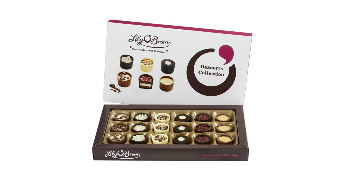 Sunshine Elegance with Lily O'Brien Chocolate Desserts Collection