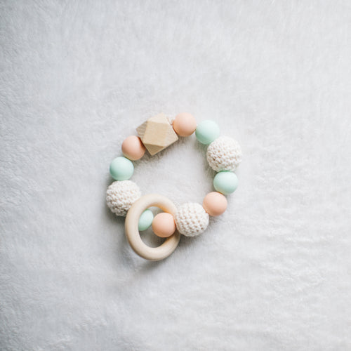 Pastel Teething Ring