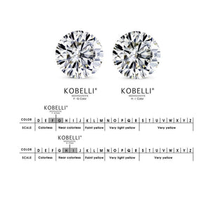 Kobelli Moissanite and Diamond Bridal Set