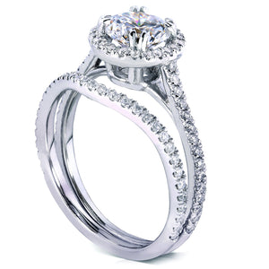 Kobelli Moissanite Bridal Set
