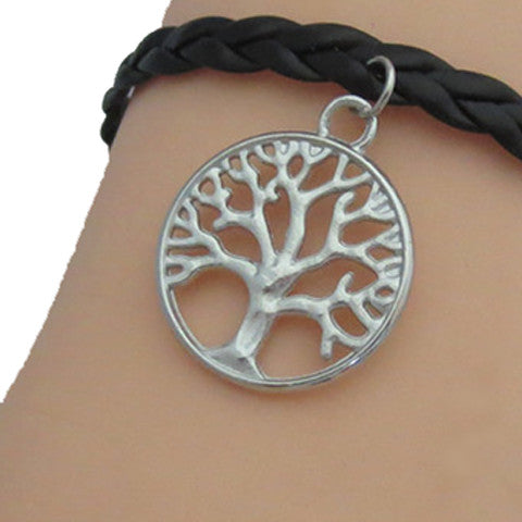 Bracelets4earth Braided Tree of Life Bracelet