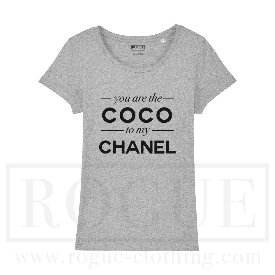 new product 3e439 10d1a You Are The Coco To My Chanel T-Shirt