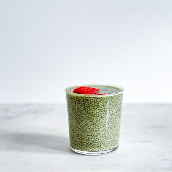 Vegan Matcha Chia Pudding
