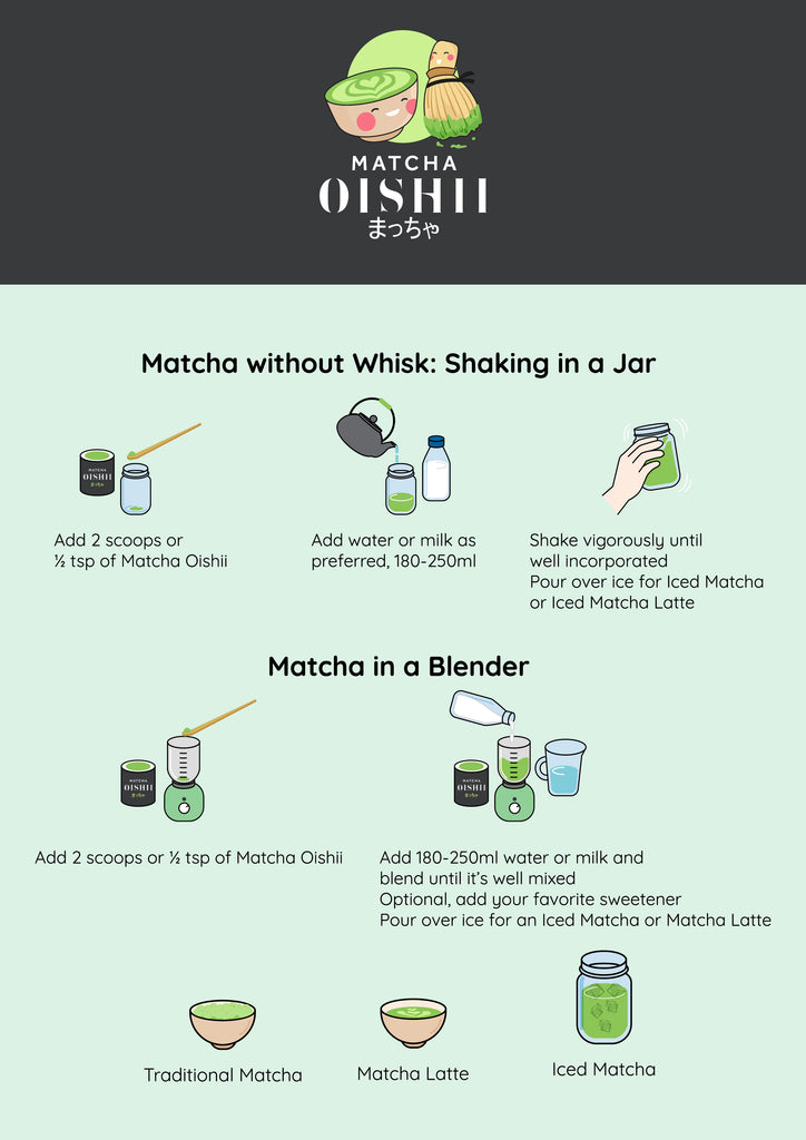 Matcha without Whisk