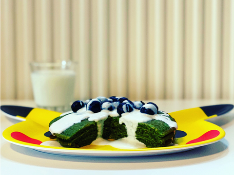 Matcha Pancakes Recipe Easy to Make - Matcha Oishii