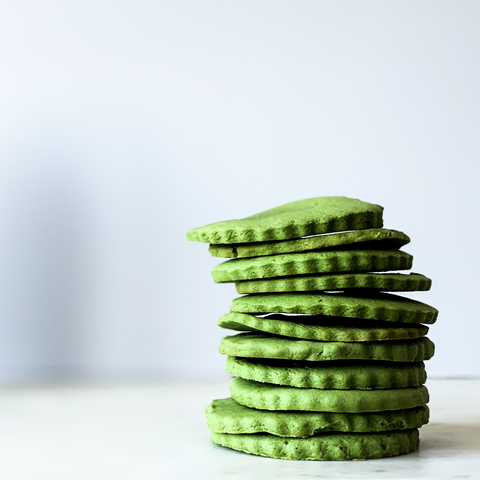 Matcha Green Tea Sugar Cookies - Matcha Oishii