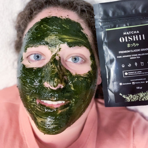 What Does a Green Tea Mask Do for Your Face? - Matcha Oishii