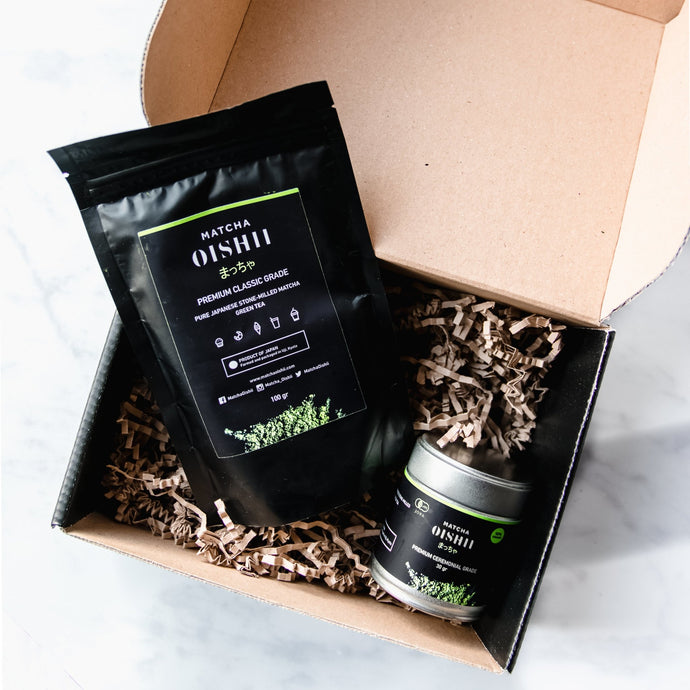 Drinking and Cooking Organic Premium Matcha Set
