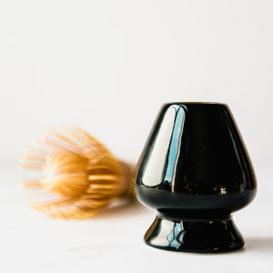 Matcha Whisk Holder Kusenaoshi Black