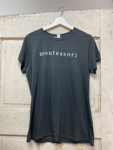 Montessori (Charcoal) - Soft, Comfy T-Shirt