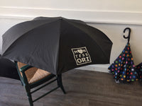 "48"" Auto Open Polka Dot Inversion Umbrella"