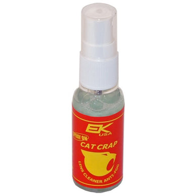 Cat Crap Multi-Use Anti-Fog Spray, for any Optics, Coatings, Eyeglass Lens Cleaner, Spray On - 1 Ounce Bottle