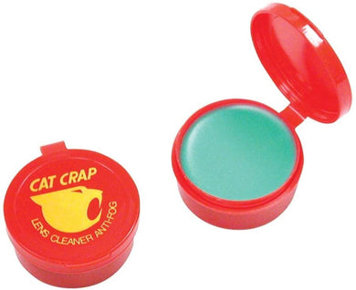 Cat Crap, Anti-Fog Lens Cleaner Balm, Safe on All Lenses, Eyeglasses, Goggles, and Camera Lenses - 0.5 Ounce
