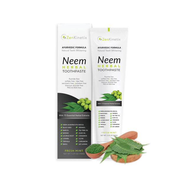 ZenKinetix Neem Herbal Toothpaste 5.29oz