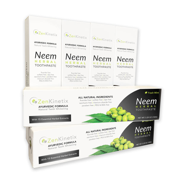 ZenKinetix Neem Herbal Toothpaste 6-Pack