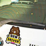 Stickers humour jeune conducteur