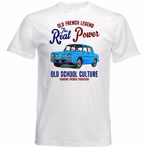 T-shirt voiture ancienne