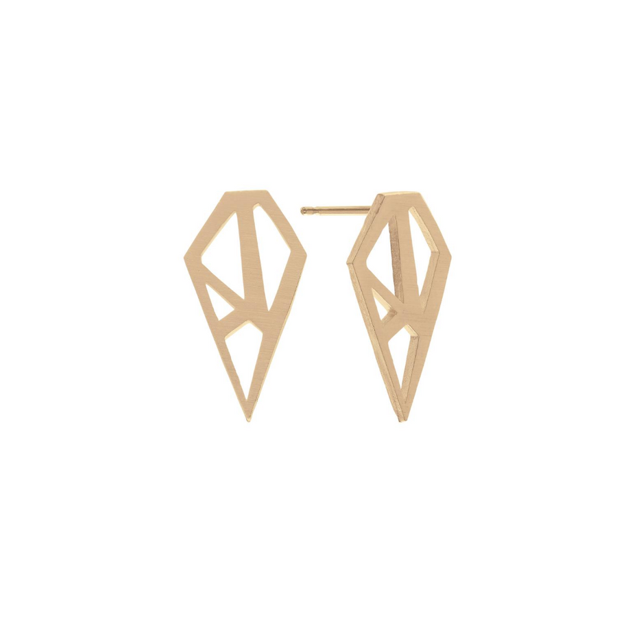 Paige Earrings Gold
