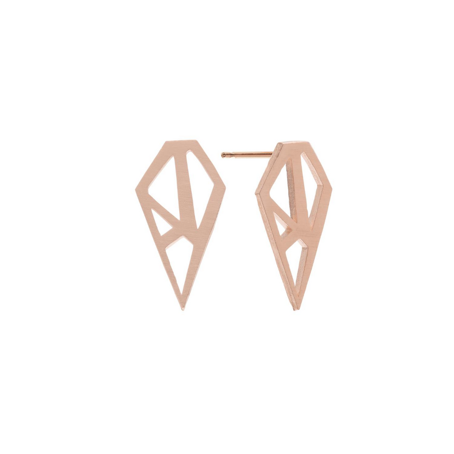Paige Earrings Rose Gold
