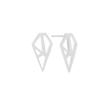 Paige Earrings Silver