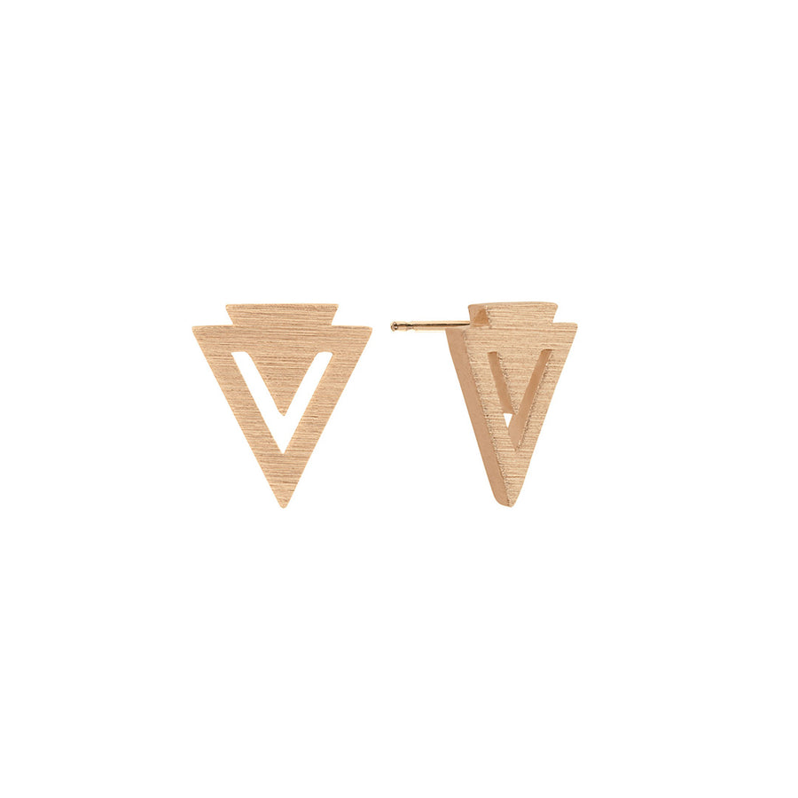 Uma Earrings Gold