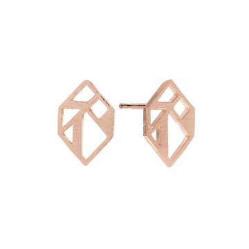 Verona Earrings Rose Gold