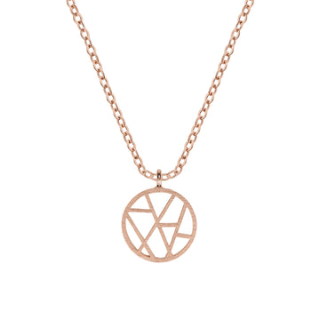 Blair Necklace Rose Gold