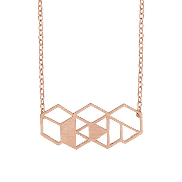 Charity Necklace Rose Gold