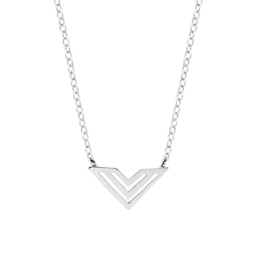 Hailey Necklace Silver