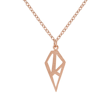 Nahia Necklace Rose Gold