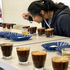 Camilla Cupping Coffees
