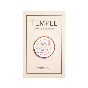 Fueled by Temple Enamel Pin