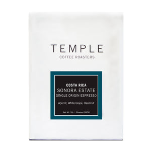 Costa Rica Sonora Estate Single Origin Espresso