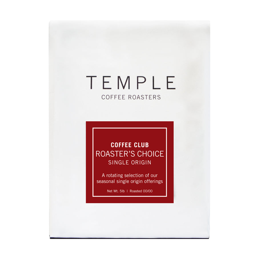 Roaster's Choice Single Origin - Subscription Only