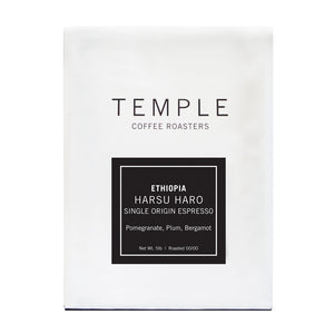 Ethiopia Harsu Haro Single Origin Espresso
